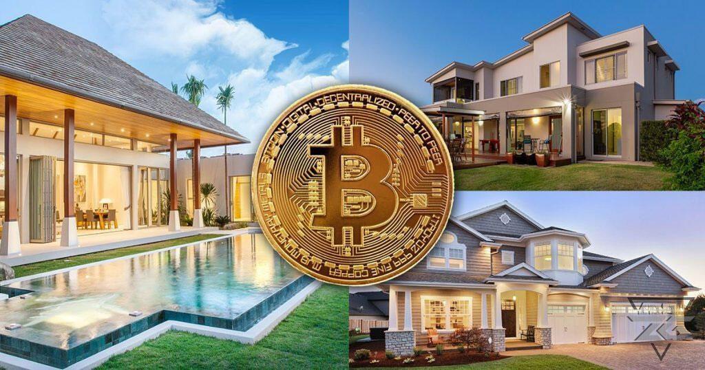 buy villa with bitcoin